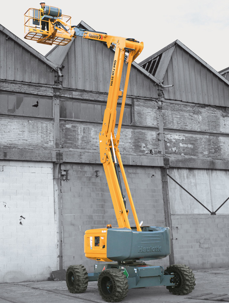 Articulated boom lift 16 m