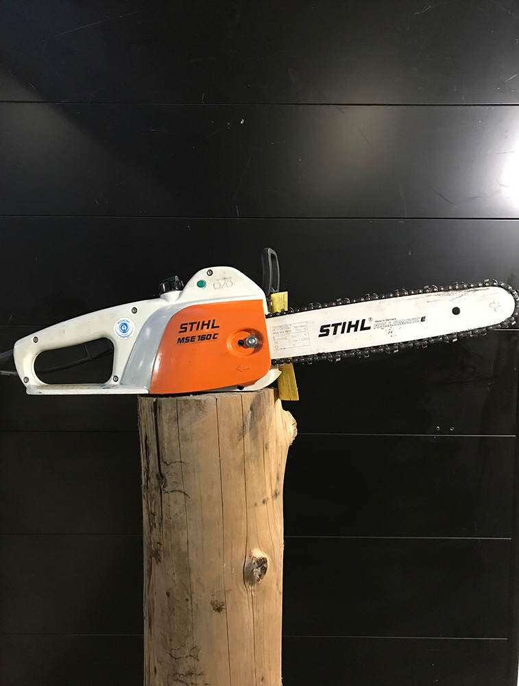 Electric chainsaw 30 cm