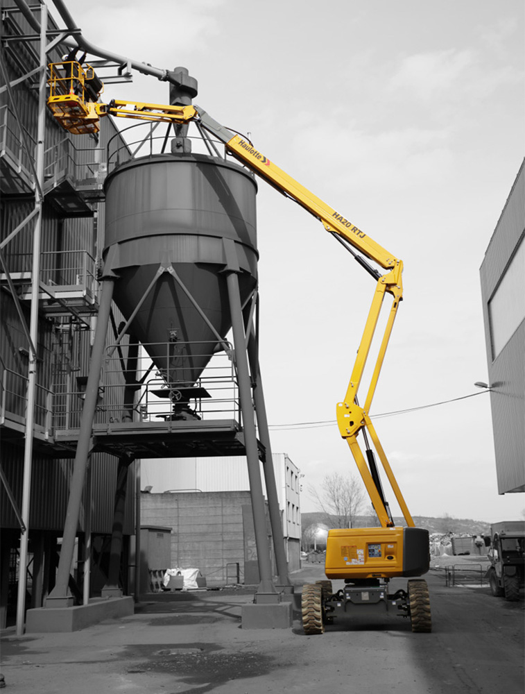 Articulated boom lift 20 m