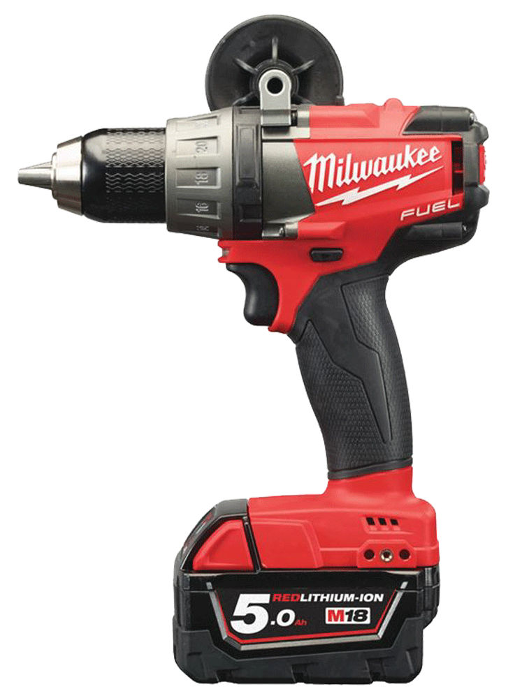 PERCEUSE VISSEUSE  FUEL 18V MILWAUKEE 5 Ah EN COFFRET