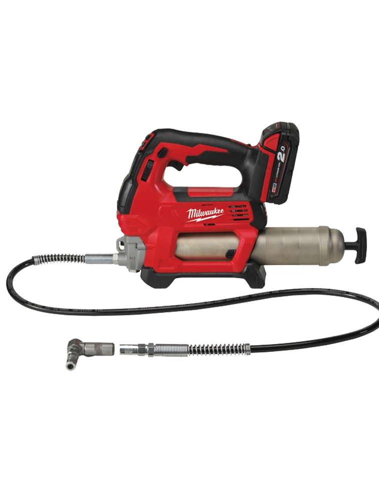 POMPE A GRAISSE 18V MILWAUKEE 1 BATTERIE 2Ah